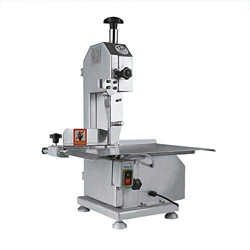 Electric Bone Sawing Machine - Commercial Frozen Meat Steak Cutting Machine - Table Saw Blade Bone Cutter Slicers Sawing Machine Meat Grinder For Cutting Bone Ribs Frozen Meat Fish Trotters