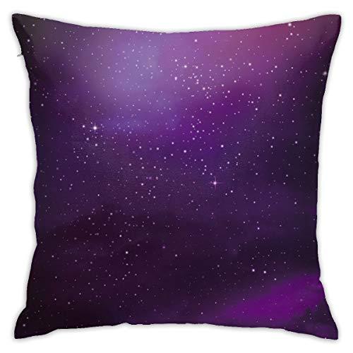 Moshow Kissenbezüge Kissenbezüge Dekoration Nova Starry Sky Milchstraße auf dem Schlafsofa 45X45 cm