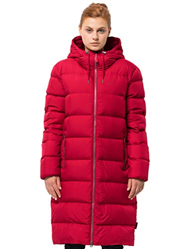 Jack Wolfskin Damen Crystal Palace Mantel, Ruby red, M