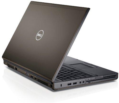 Dell NB Precision M4800 39,6 cm (15,6 Zoll) Laptop (Intel Core i7 4800MQ, 2,7GHz, 8GB RAM, 500GB HDD, NVIDIA Quadro K1100M - 2 GB GDDR5, Win 7) schwarz