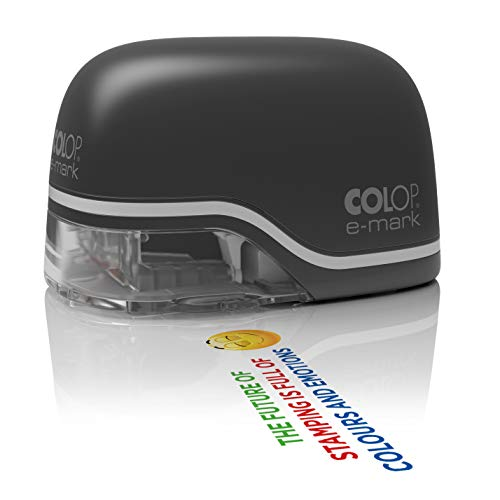 Colop 153117 e-mark Sello digital negro marcador electrónico