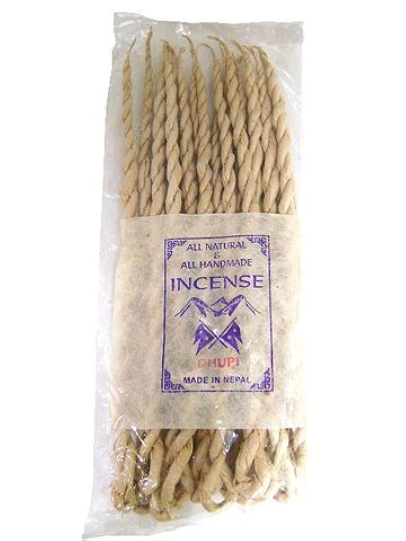 NEPAL INCENSE 日本では当店でのみ販売 ネパールの高級ねじり香(ロープ) ドゥピ