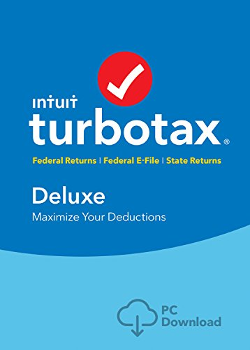 [Old Version] TurboTax Deluxe + State 2018 Tax Software [PC Download] [Amazon Exclusive]
