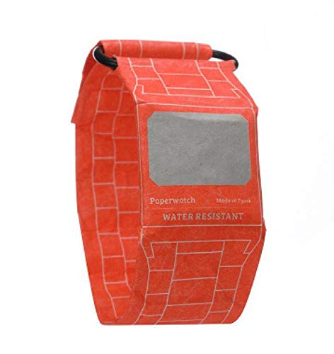 Wasserdichtes Papier Digitaluhr E-Paper Watch Mit LED-Uhr Tyvek Paper Strap Super Light Durable Watch Für Männer Frauen Jungen Mädchen Teens Kids,D