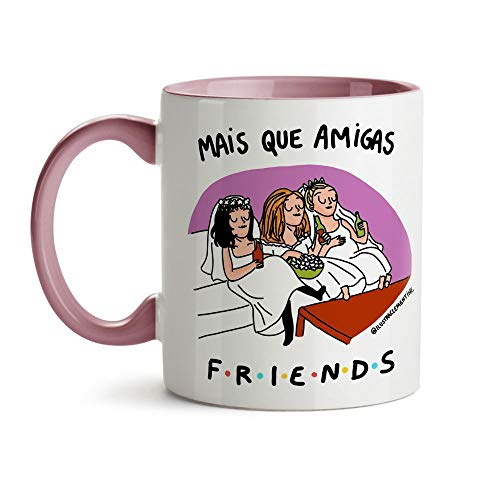 Caneca Mais que amigas Friends