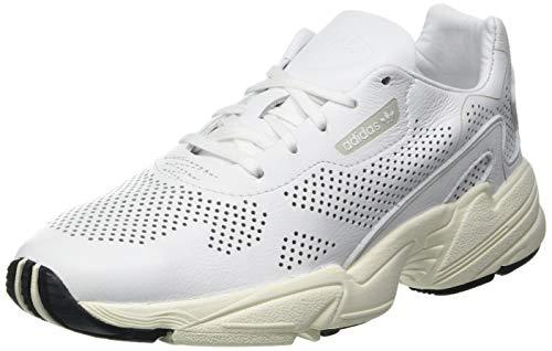 adidas Damen Falcon Allluxe W Kletterschuhe, Weiß (Ftwbla/Ftwbla/Casbla 000), 42 EU