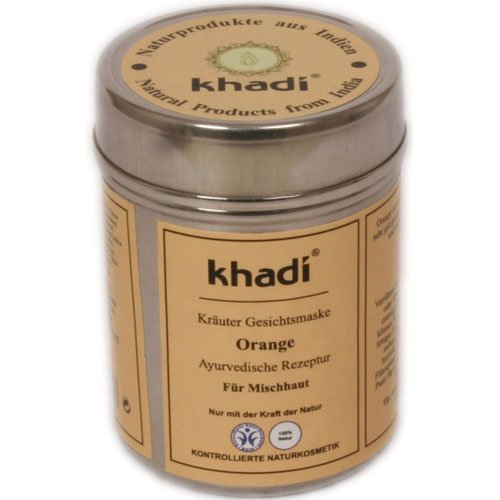 Khadi: Gesichtsmaske Orange (50 g)
