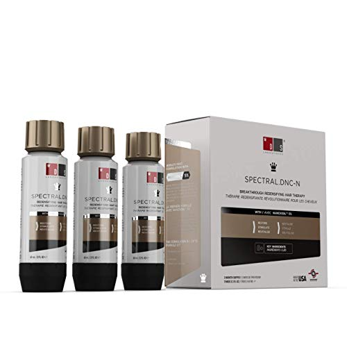 DS Laboratories Solución Spectral DNC-N para el adelgazamiento del pelo (3 mes de suministro) - Fórmula a base de agua, se hacen más gruesas y Cabello Fuller