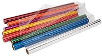 Becker's School Supplies Cellophane Rolls Set of 8 Colors (Pack of 8) [並行輸入品]