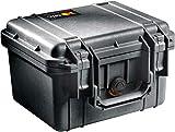 PELI 1300 valise pour caméra résistante aux chocs, étanche IP67, capacité 6L, fabriquée aux États-Unis, sans mousse, couleur: noire