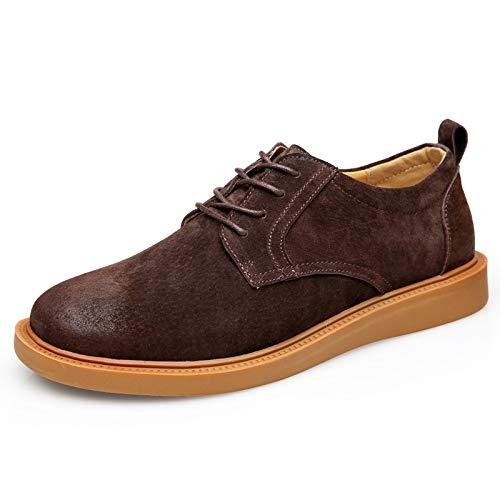 Shukan herenlaarzen Martin met ronde kop Pu Low om vrijetijdsschoenen strikken schoenen houthakken te helpen