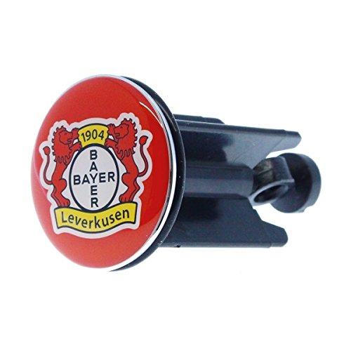 Bayer 04 Leverkusen Waschbeckenstöpsel Stöpsel rot Logo