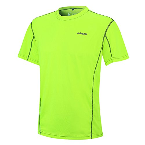 Airtracks T-shirt de course fonctionnel à manches courtes Pro Air - Fluo - M