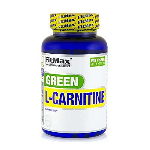 GREEN TEA L-CARNITINE   Accelera la termogenesi e il metabolismo - Pillole dimagranti - Bruciagrassi (90 Capsule)