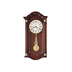 Howard Miller Lambourn Cherry Wall Clock Windsor Cherry Dimensions: 14.25 W X 5.75 D X 28 H Weight: 15 Lbs