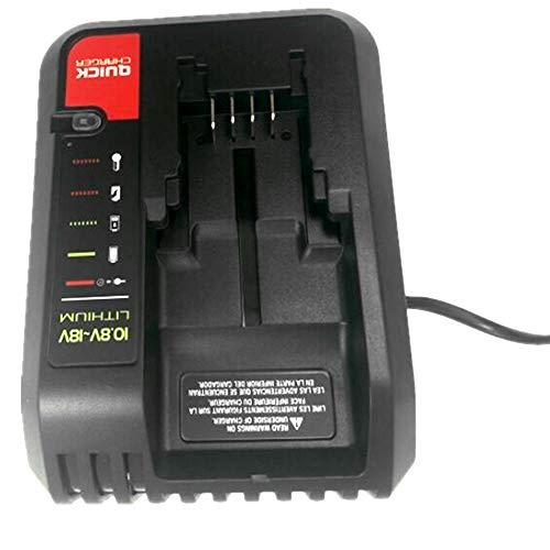 Para BLACK /& DECKER 20V Li-ion Cargador de Batería PORTER CABLE// STANLEY FMC680L