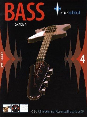 Rockschool Bass - Grade 4 (2006-2012). Partituras, CD para...