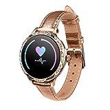 JXFF M9 Women's Smart Watch IP68 Reloj Impermeable Dama Smartwatch Monitor De Ritmo Cardíaco Monitor Fitness Tracker...