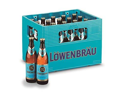 Löwenbräu Original Helles Flaschenbier, MEHRWEG (20 x 0.5 l) im Kasten, Helles aus München