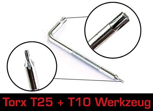 Universal Entlüftungs-Kit Basic für Magura® / Formula® / Shimano® / Avid® Scheibenbremsen – Mit Torx T10 - 2