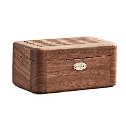 Caja de música de madera, joyero musical, para niños y adultos, caja de música multifuncional (color: natural, tamaño: 'Meet'')