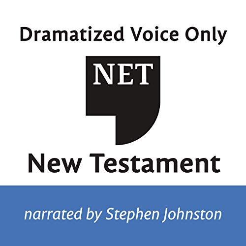 Audio Bible - New English Translation, NET: New Testament  By  cover art
