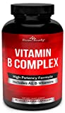 Super B Complex Vitamins - All B Vitamins Including B12, B1, B2, B3, B5, B6, B7, B9, Folic Acid - Vitamin B Complex...