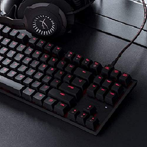 HyperX HX-KB4BL1-US Alloy FPS Pro Mechanische Gaming Tastatur, Cherry MX Blue (US Layout)