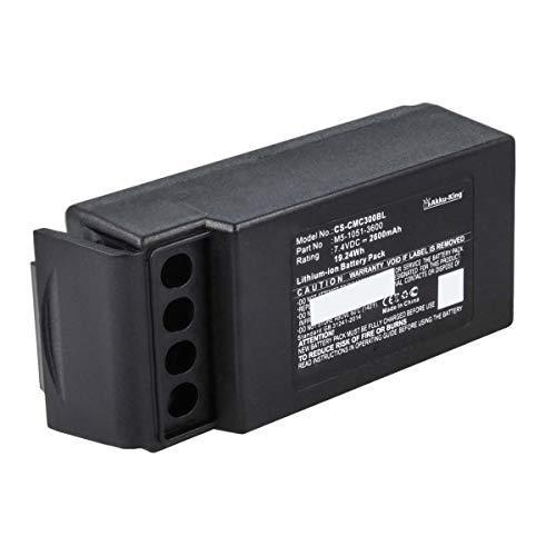 Akku-King Akku kompatibel mit Cavotec M5-1051-3600 - Li-Ion 2600mAh - für M9-1051-3600 EX, MC-3, MC-3000