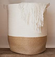 GooBloo Large Cotton Rope Woven Basket - 18