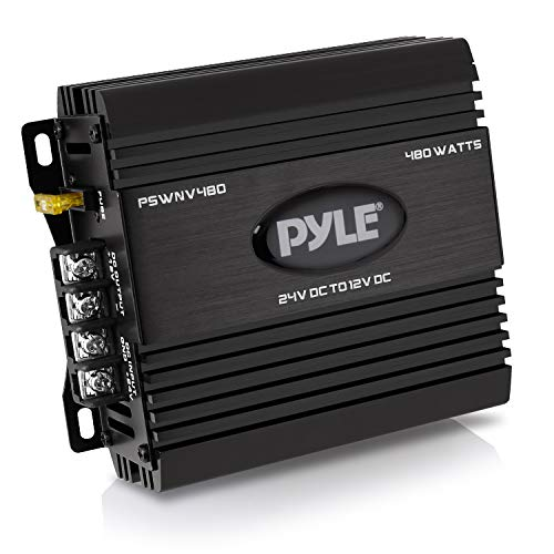 Pyle PSWNV480 24V DC to 12V DC Power Step Down 480W Converter with PMW...