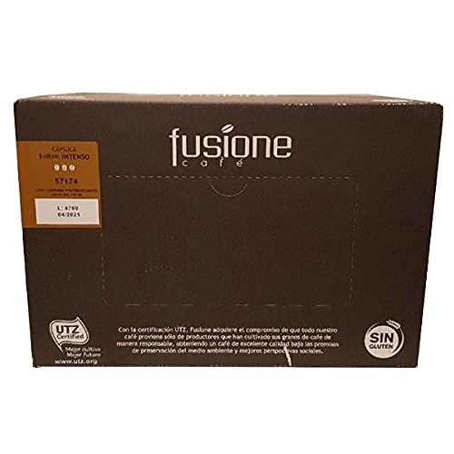 Café en Cápsulas Fusione Intenso - Caja de 100 unidades