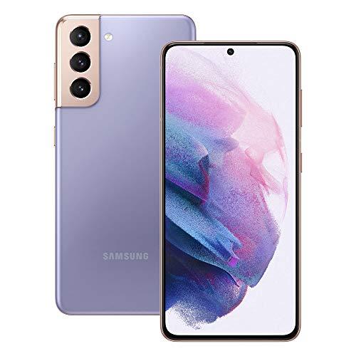 Samsung Galaxy S21 5G Smartphone SIM Free Android Mobile Phone Phantom Violet 256GB, (UK Version)