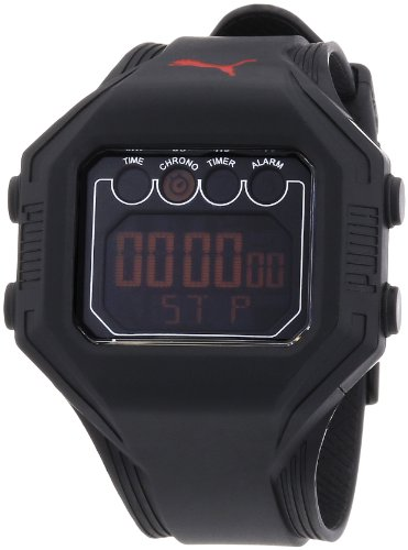 Puma Gents Watch Digital Bounce- L Black Quartz A.PU910771002