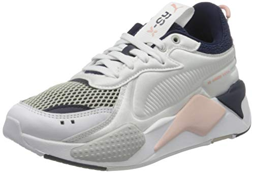 PUMA RS-X SOFTCASE, Sneaker Unisex-Adulto, Bianco White Black, 45 EU
