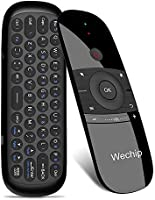 Wechip 2.4G Smart TV Wireless Keyboard Fly Mouse W1 Multifunctional Remote Control for Android TV Box/PC/Smart...
