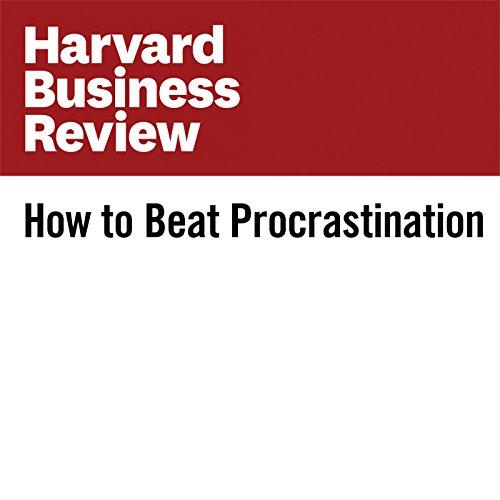 How to Beat Procrastination cover art