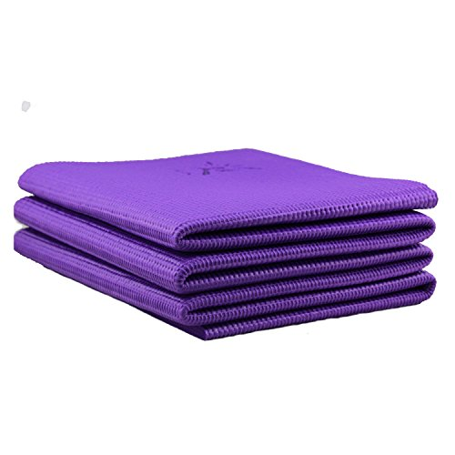 IVIM Foldable Non-slip Travel Yoga Mat Exercise Mat, Folding Portable,...