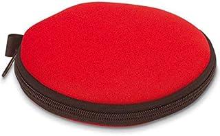 M.D.R. MUSICAS DE REGIMEN Estuche Porta CD Color Rojo para 12 Compact Disc - Ref. 1895