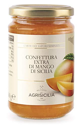 Agrisicilia Confettura Extra di Mango di Sicilia - 360 gr