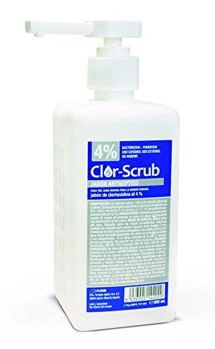 Clor-scrub Clorhexidina Jabonosa 4% Antiseptico