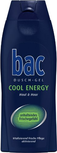 bac Duschgel Cool Energy Men, 3er Pack (3 x 250 ml)