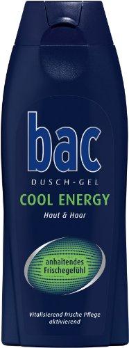 bac Duschgel Cool Energy Men, 3er Pack (3 x 250 ml)