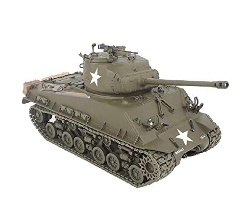 X-Toy Kits De Modelo De Plástico del Rompecabezas del Tanque, 1/35 Scale M4 Sherman Medium Model Modelo, Juguetes para Adultos Y Regalo, 8.5 X 3.4 Pulgadas