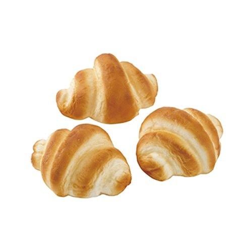 ミニクロワッサン(3ケパック)(フォーム素材)(VF1184)[食品サンプル フェイクフード ディスプレイ パン ブレッド クロワッサン]