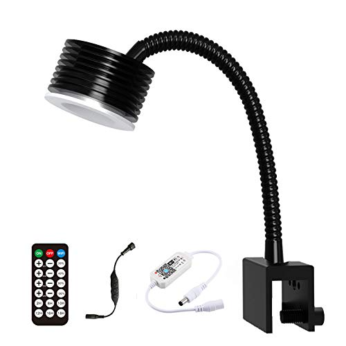 Lominie Luz LED para Acuario, WiFi de Espectro Completo y Control Remoto, Lámpara para Pecera, 4 Canales Regulables para Tanque de Acuario de Arrecife de Coral de Agua Salada (S20 Acqua Salata)