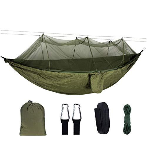 LOGO Portátil de Camping al Aire Libre Mosquitera Silla Colgante el oscilación Hamaca portátil Que viaja Lona al Aire Libre (Color : 1)