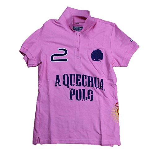 A Quechua Ladies Polo Camiseta Rose S rosa rosa Talla:medium