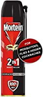 Mortein 2-in-1 Mosquito and Cockroach killer Spray - 600 ml