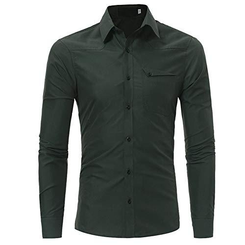 MUMU-001 Camisas de Moda para Hombre Verano Primavera Person